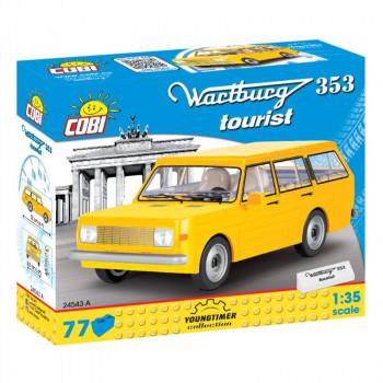 Cobi 24543 Youngtimer Wartburg 353 Tourist, 1:35, 77 k
