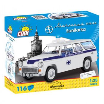 Cobi 24549 Youngtimer Automobil Warszawa 223A Sanitka