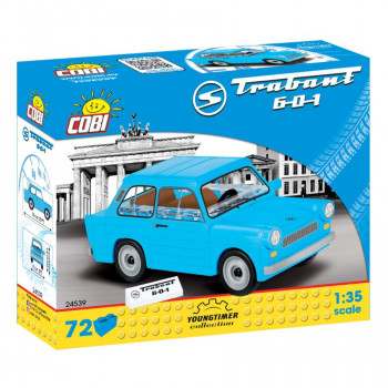 Cobi 24539 Youngtimer Trabant 601, 1:35, 72 k