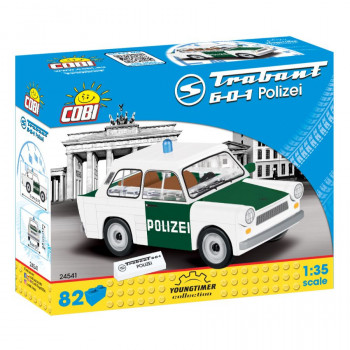 Cobi 24541 Youngtimer Trabant 601 Polizei, 1:35, 82 k