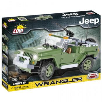 Cobi Jeep Wrangler vojenský 1:18