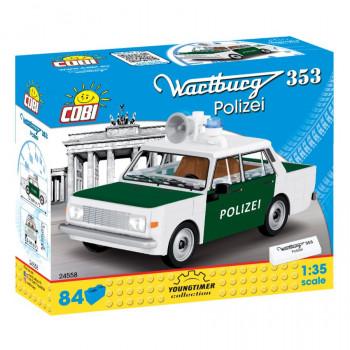Cobi 24558 Youngtimer Automobil WARTBURG 353 POLICIE