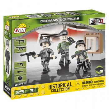 Cobi 3 Figurky s doplňky německá armáda