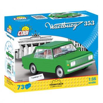 Cobi 24542 Youngtimer Wartburg 353, 1:35, 73 k