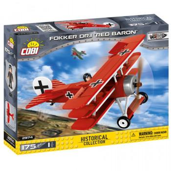 Cobi Great War Fokker Dr. 1 Red Baron