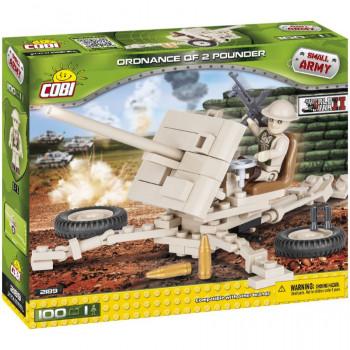 Cobi Small Army WWii Anti-Tank Gun 100Elem