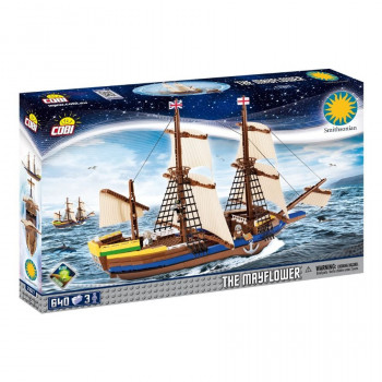 Cobi 21077 SMITHSONIAN Loď Mayflower 650 k 3 f