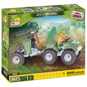 Cobi Small Army ATV s Avangerem