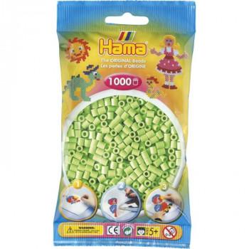 Hama H207-47 Midi Pastelově zelené korálky 1000 ks