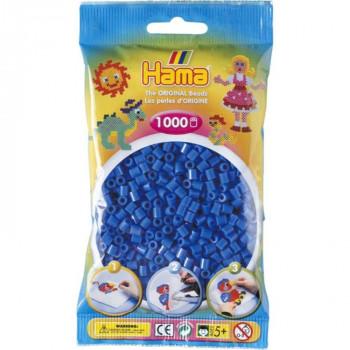 Hama H207-09 Světle modré korálky 1000 ks