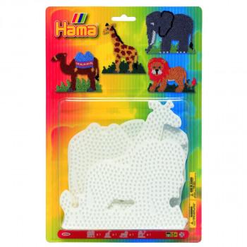 HAMA Podložky /slon,žirafa,velbloud,lev/