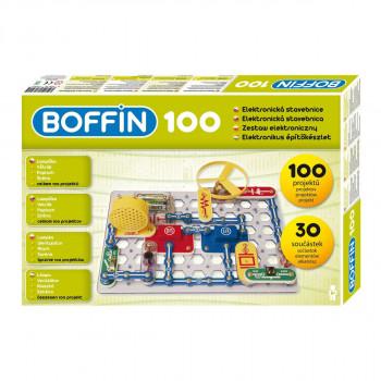 Elektronická stavebnice Boffin 100 projektů
