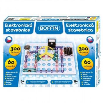 Elektronická stavebnice Boffin 300 projektů