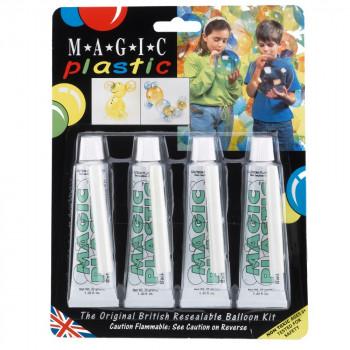 Hamleys kouzelné balonky - Magic Plastic sada 4 ks svítí ve