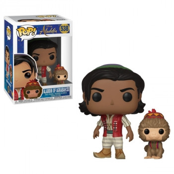 Funko POP Disney: Aladdin (Live) - Aladdin w/Abu