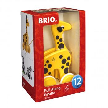 Brio Tahací žirafa na provázku