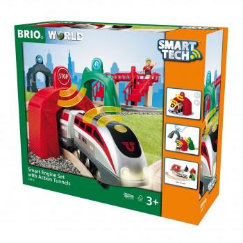 Brio Sada aktivních tunelů Smart Tech