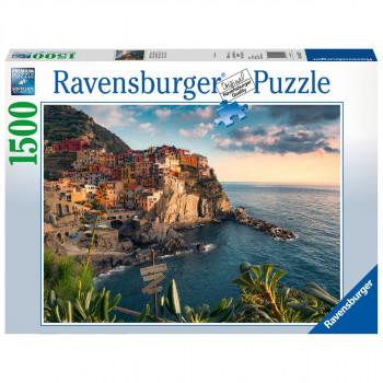 Ravensburger Pohled na Cinque Terre 1500 dílků