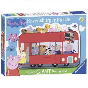Ravensburger Prasátko Peppa a autobus 24 dílků