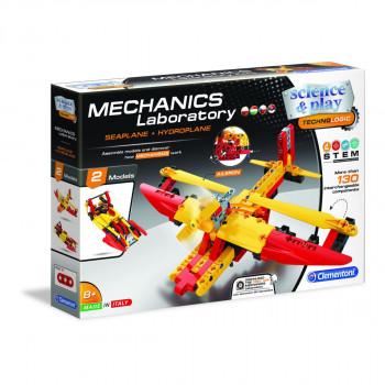 Clementoni Mechanická laboratoř Letadlo a hydroplán
