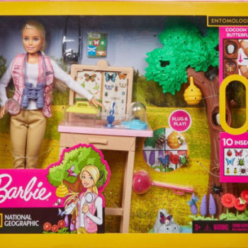 Barbie entomoložka national geographic herní set
