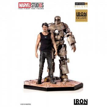 Tony Stark & Mark I - MCU 10 Years - Art Scale 1/10