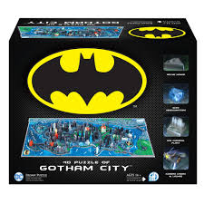 4D Puzzle - Batman Gotham City