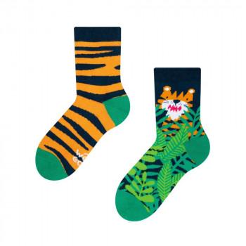 Good Mood Kids Socks - Tiger 27-30
