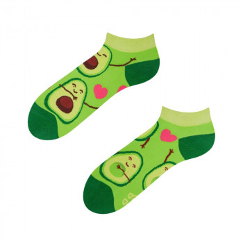 Good Mood Low Socks - Avocado Love 35-38