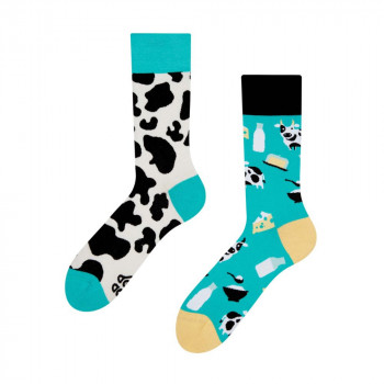 Good Mood Regular Socks - Cow 43-46