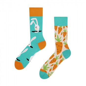 Good Mood Regular Socks - Carrot Rabbit 43-46