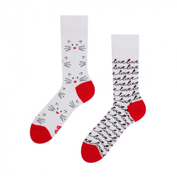 Good Mood Regular Socks - Cat Love 43-46