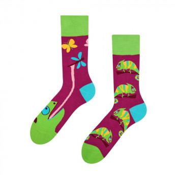 Good Mood Regular Socks - Chameleon 35-38