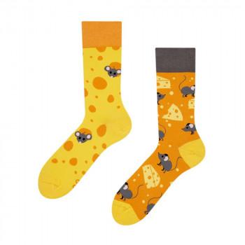 Good Mood Regular Socks - Cheese 39-42
