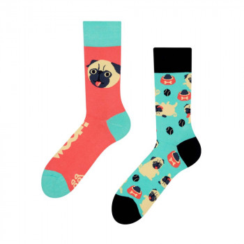 Good Mood Regular Socks - Pug Life 43-46