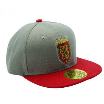 HARRY POTTER - Snapback Cap - Grey & Red - Gryffindor