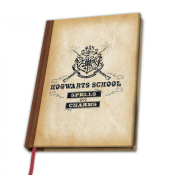 HARRY POTTER - A5 Notebook Hogwarts School X4