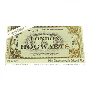 24-42g Harry Potter Hogwarts Ticket Chocolate Bar