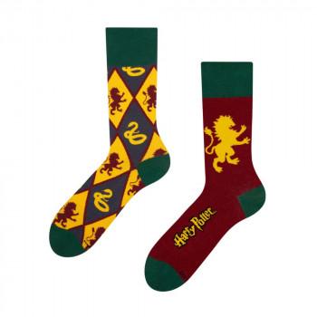 Harry Potter Regular Socks - Gryffindor vs Slytherin 43-46