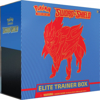 Pokémon TCG: Sword and Shield Elite Trainer Box