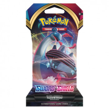 Pokémon TCG: Sword and Shield 1 Blister Booster