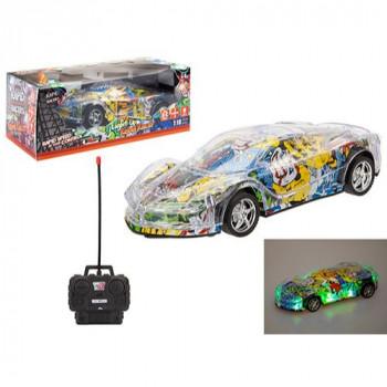 RC Grafitti sportovní auto se světly 1:18