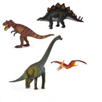 Dinosauři - set 4ks