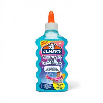 Lepidlo ELMER´S Glitter Glue 177ml, modré