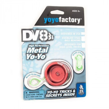 YoyoFactory DV888 červené