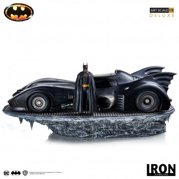 Batman & Batmobile Deluxe Art Scale 1/10 - Batman (1989)