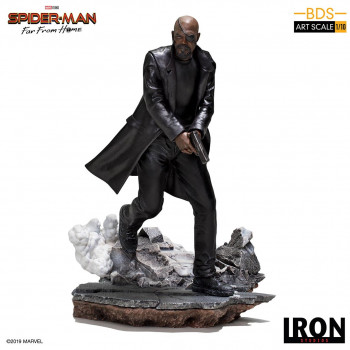FFH Nick Fury 1/10 art scale