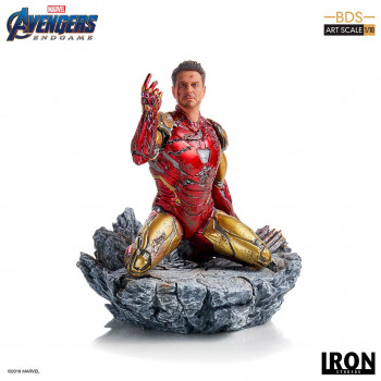 I am Iron Man BDS Art Scale 1/10 - Avengers: Endgame