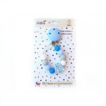 Klip na dudlík: Zajíček modrý