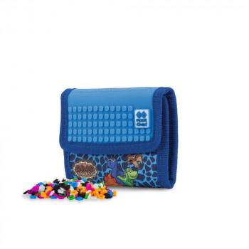 PIXIE CREW peněženka Dino modrá